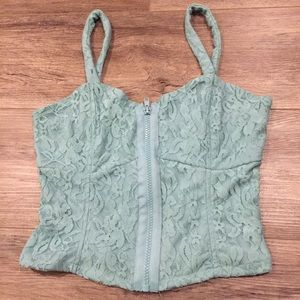 Charlotte Russe lace top